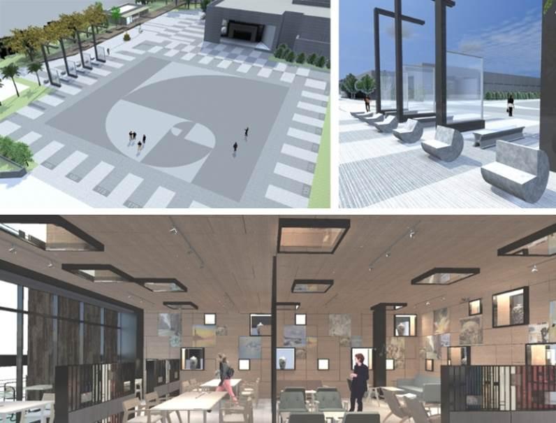南館的「科普咖啡圖書站」與「度量衡廣場」全新公開
