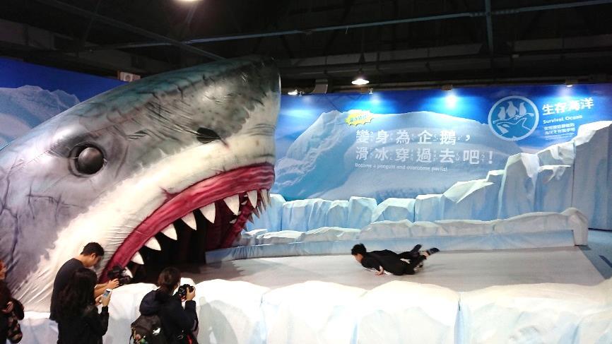 日本海外唯一變身教育互動樂園 變變變!MOVE生物體驗展